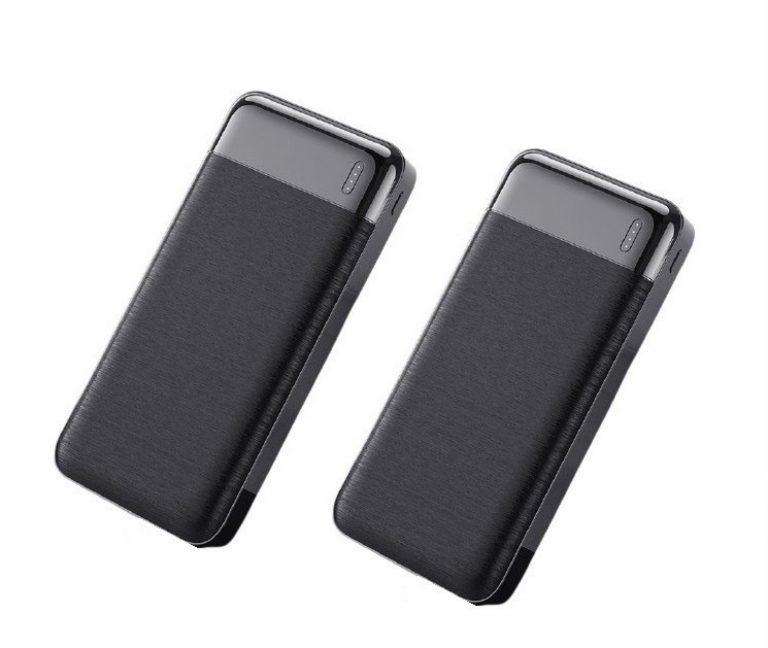 CHOLLAZO desde España! Pack 2 x Powerbank 20000mah QC USB a 16,9€