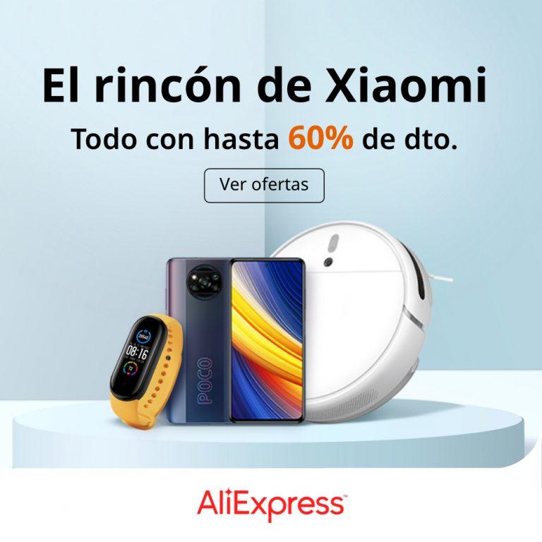 El Rincón de Xiaomi Aliexpress – Todo con hasta un 60% dto (Actualizado)