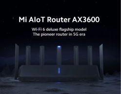 PRECIAZO desde ESPAÑA! Router Xiaomi AloT AX3600 a 62€
