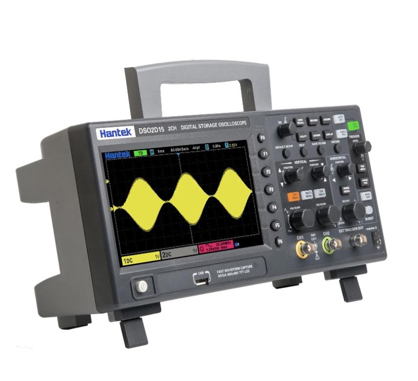 Osciloscopio DSO2D15