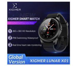 OFERTA! Smartwatch Xigmer Lunar X01 a 24,6€