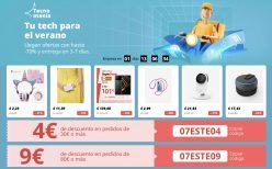 Ultimo Dia! TecnoManía en AliExpress: Tu tech para el Verano – Cupones hasta 25€