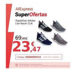 OFERTA desde ESPAÑA! Zapatillas Adidas Lite Racer CLN desde 21€