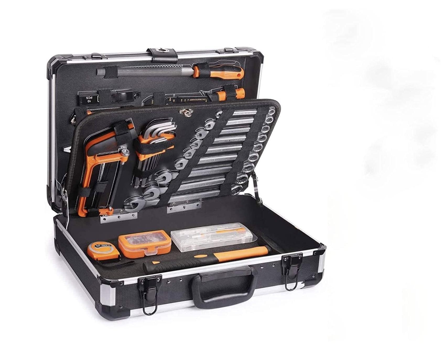 Caja de Herramientas de Aluminio 136Pcs