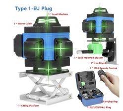 OFERTA desde España! Nivel Laser 16 lineas 4D a 48,5€