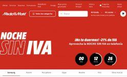 NOCHE SIN IVA Mediamarkt 2021 – Recopilación mejores ofertas