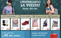 ¿Preparando la Vuelta al cole? – Hasta un 80% dto en AliExpress