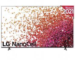 Preciazo! TV LG Nanocell 75″ 2021 ThinQ AI 4K HDR10 Pro a 944€ + 200€ de reembolso