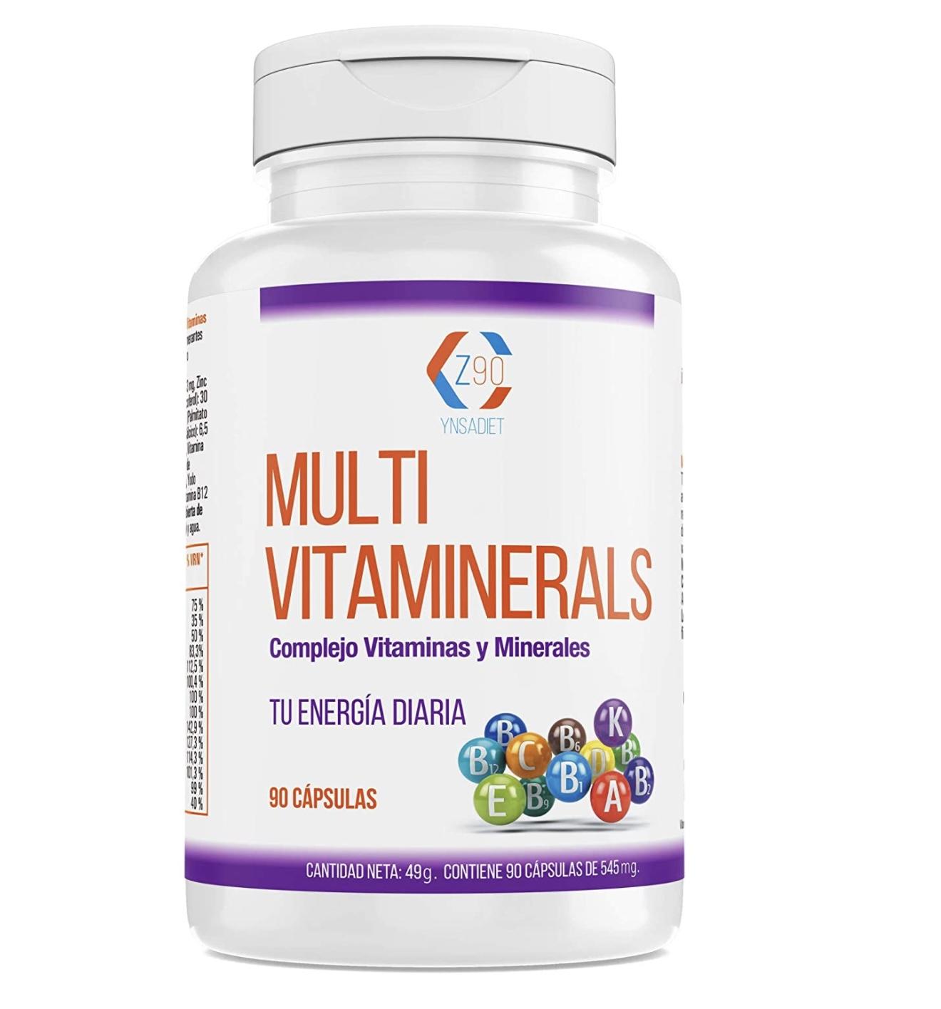 Complejo vitamínico con minerales