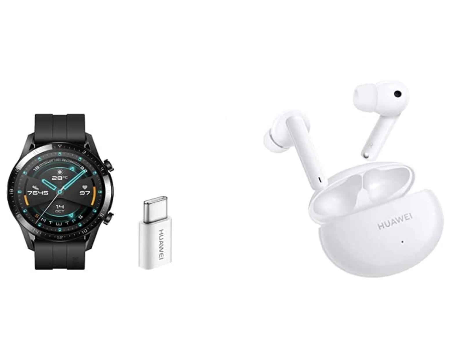 Huawei Watch GT2 Sport + Huawei Freebuds 4i